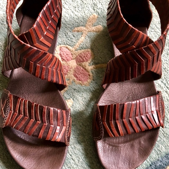 PIKOLINOS Shoes - Gladiator brown leather Pikolinos comfort sandals